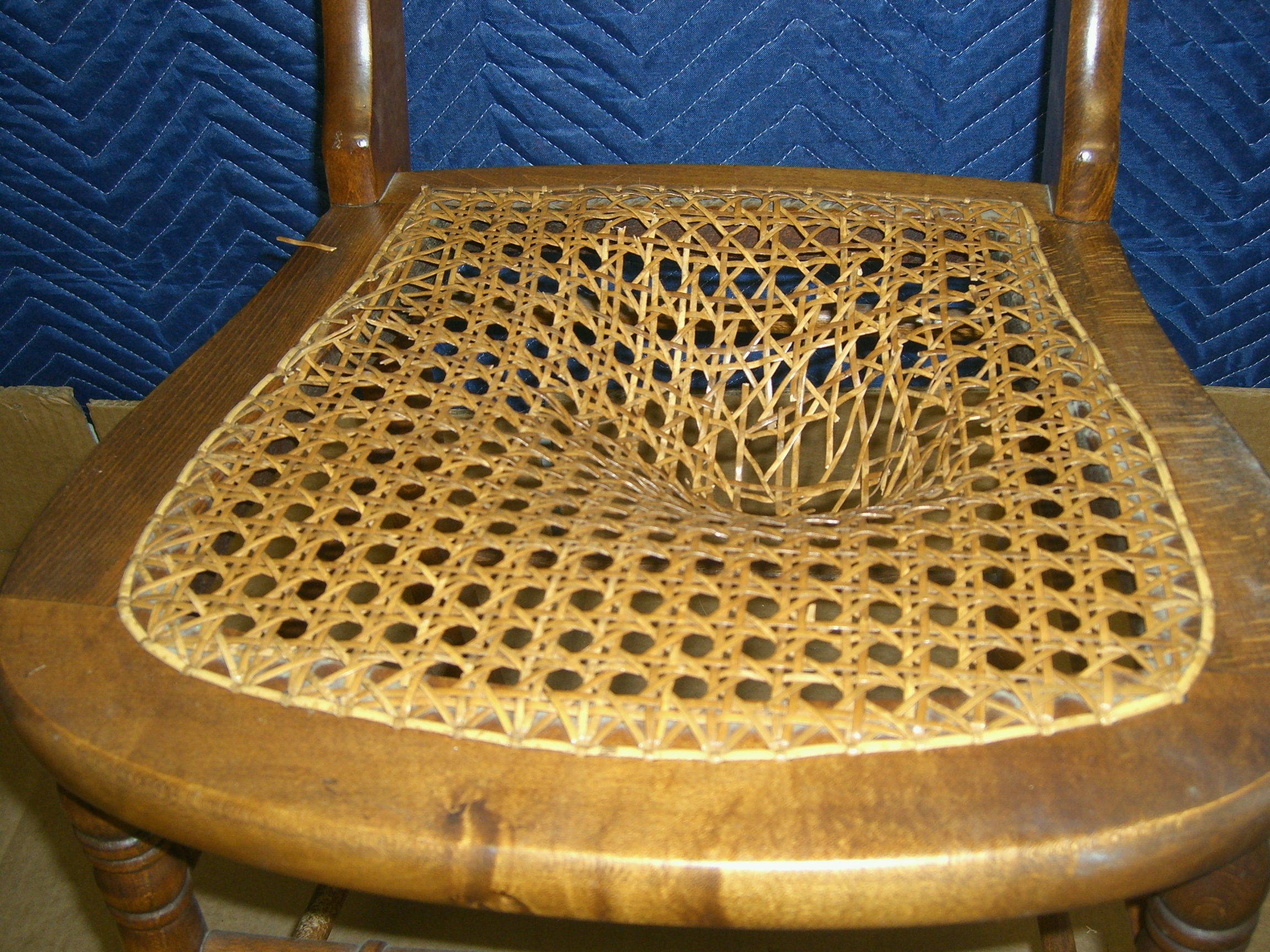 Before & Seat Weaving and Repair | Antiques by Futura